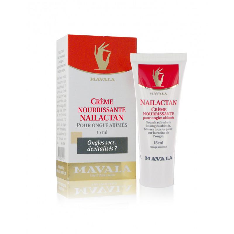 Nailactan en Tube Crème Nourrissante pour Ongles Abîmés et Friables