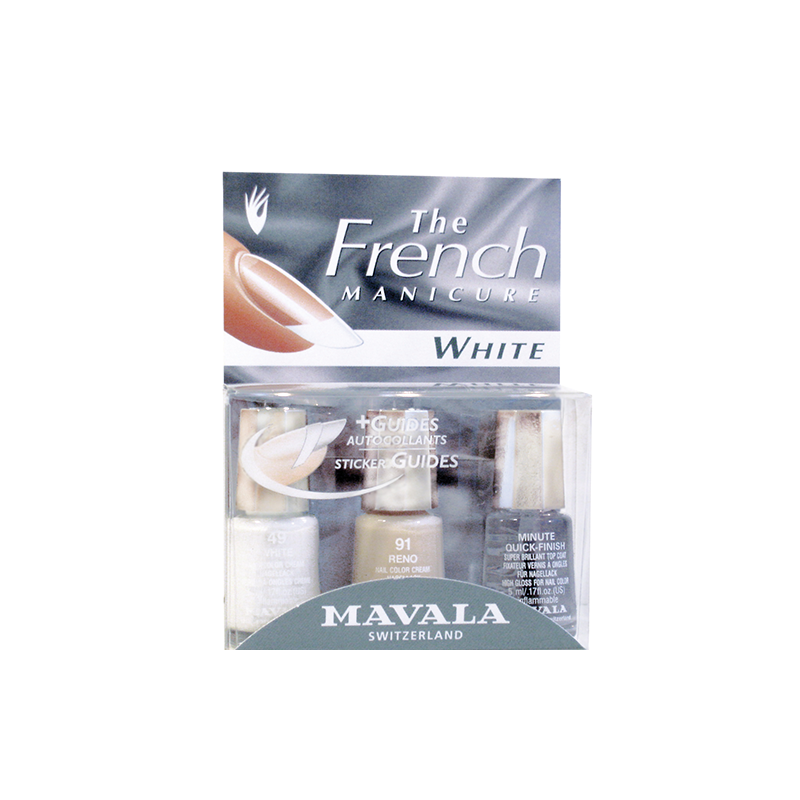 Kit French Manicure White