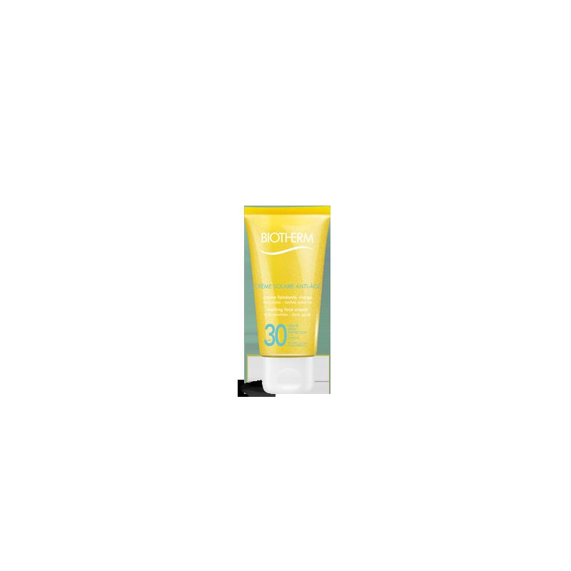 Crème Solaire Anti-Age SPF30 Crème Fondante Visage Anti Rides Taches Solaires - 50 ml