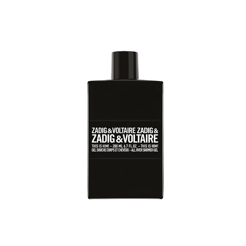 Zadig & Voltaire This is Him!  Gel Douche Parfumé - 200 ml