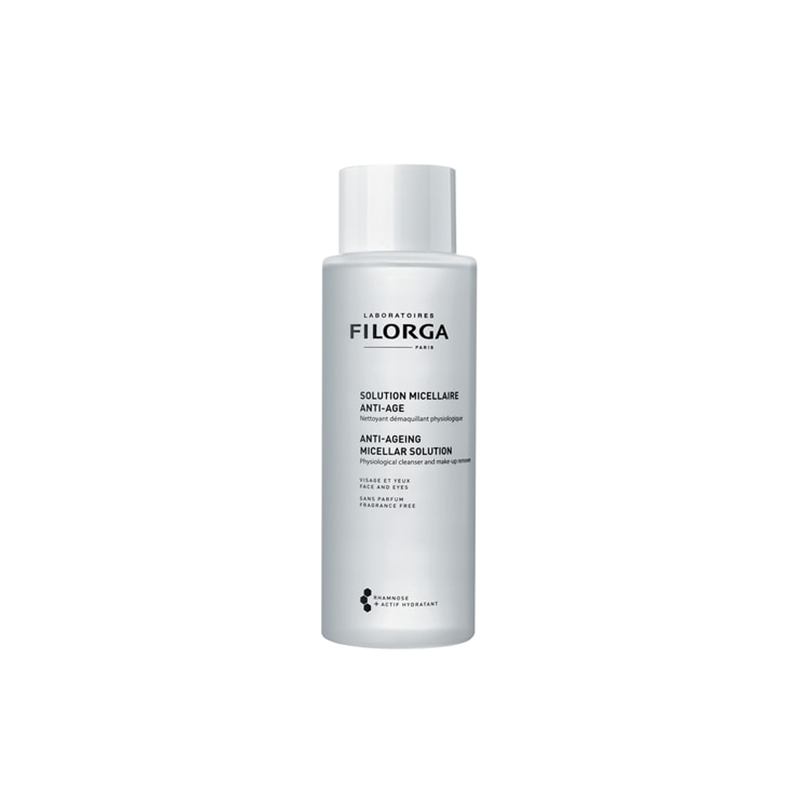 Solution Micellaire Anti-age Nettoyant Démaquillant Physiologique - 400 ml
