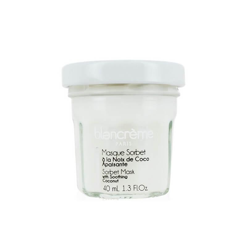 Masque Visage Crème Sorbet Noix de Coco - 40 ml