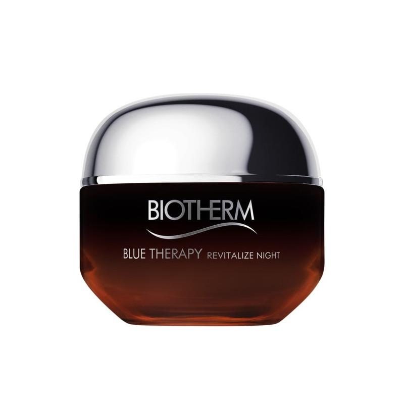 Blue Therapy Amber Algae Crème de Nuit Anti-âge Revitalisation - 50 ml