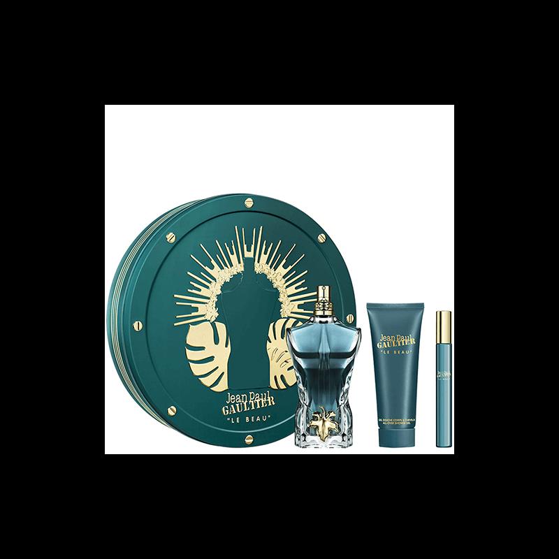 Coffret Le Beau Eau de Toilette - Shampoing Douche - Vaporisateur de Voyage