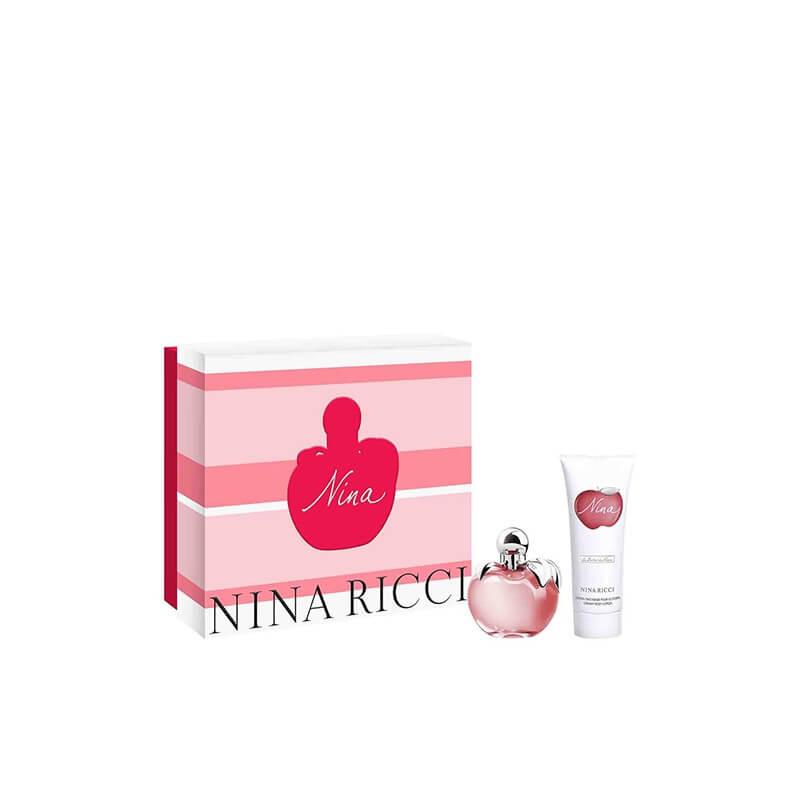 Coffret Nina Eau de Toilette - Lait Parfumé pour le Corps