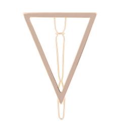 Barrette Triangulaire en Métal
